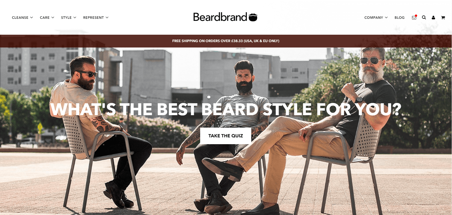 Beardbrand // Video-Analisi CRO di un Ecommerce