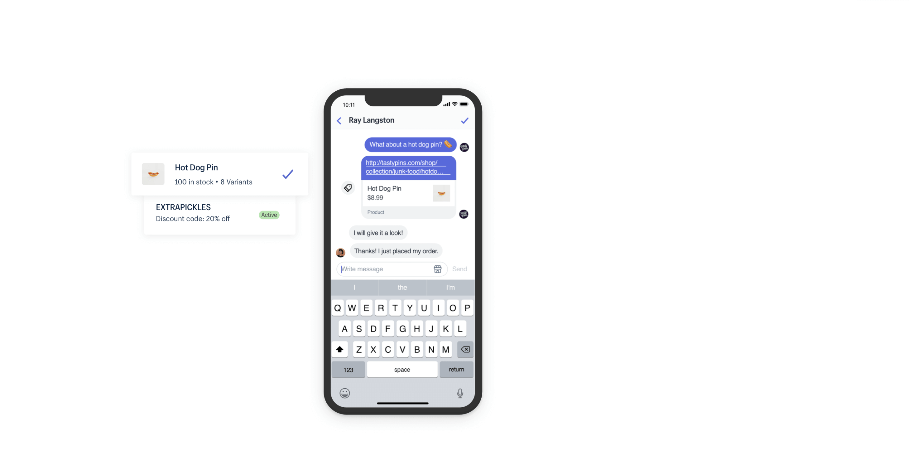 La nuova integrazione Apple Business chat per Shopify con Ping