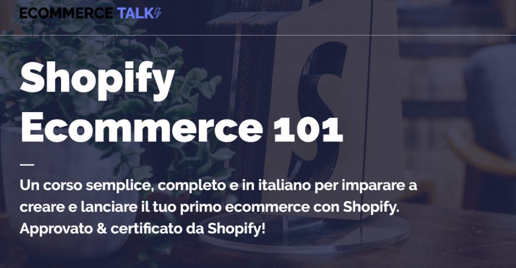 Corso Shopify Ecommerce